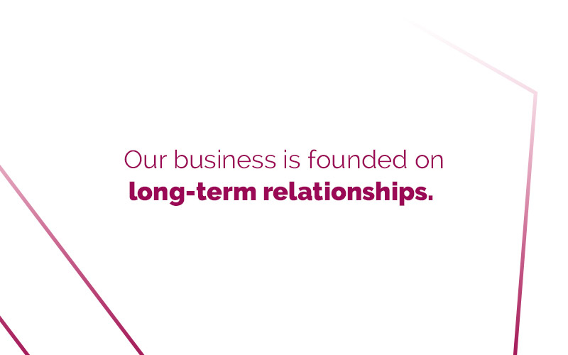 Marsden Group Our business is founded on long-term relationships